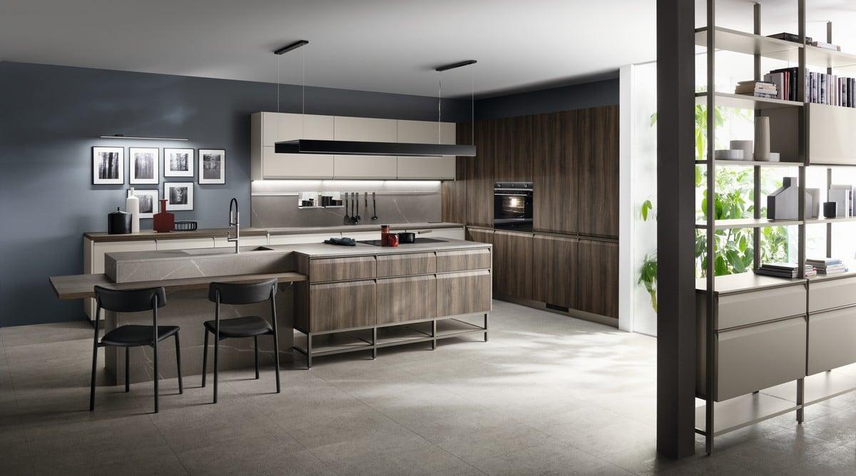 Supersalone 2021 Scavolini: il progetto cucina e bagno Formalia