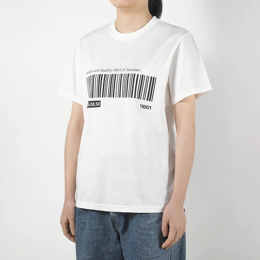 ikea-eftertraeda-t-shirt-bianco