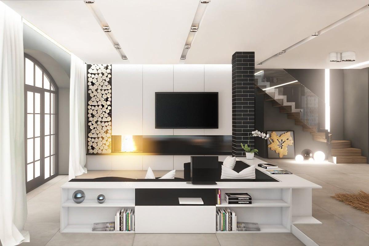 arredare-soggiorno-bianco-nero-8